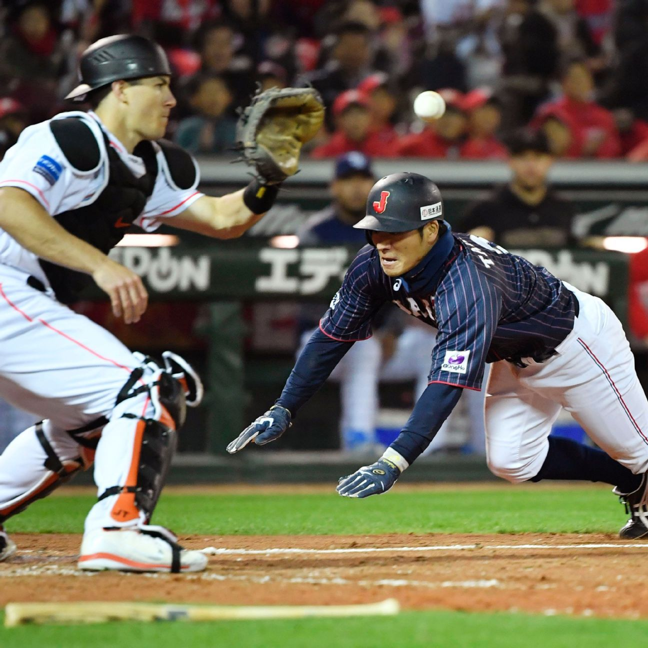 Japan beats MLB All-Stars 6-5 to clinch exhibition series
