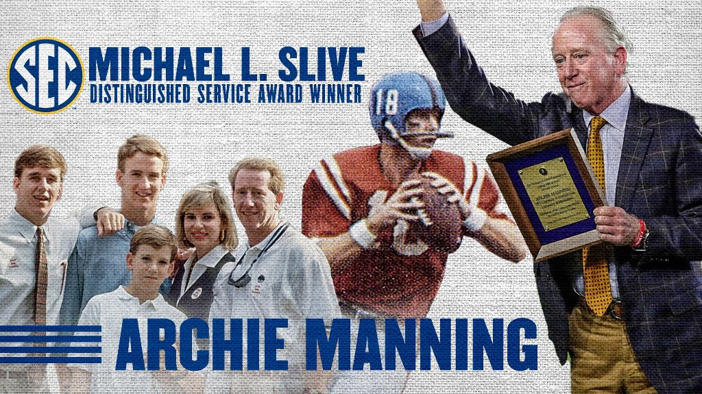 SEC to honor Archie Manning with Michael L. Slive Award