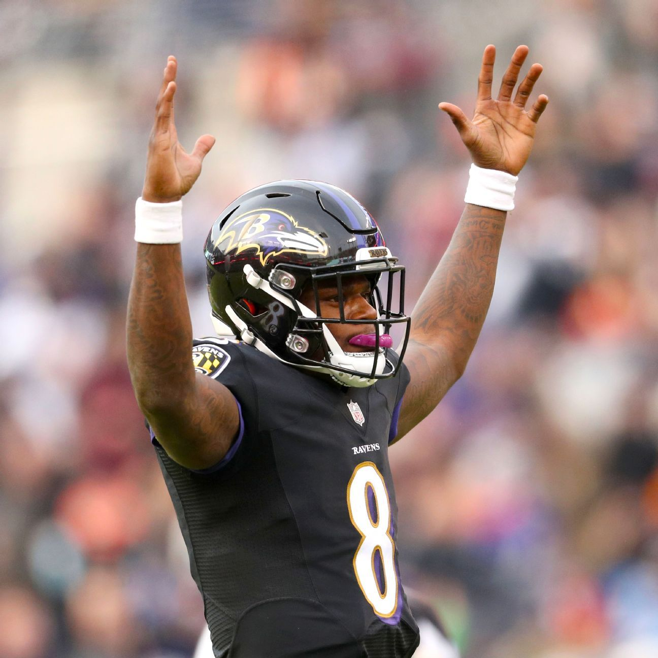 Lewis on Lamar Jackson: QBs don't run forever