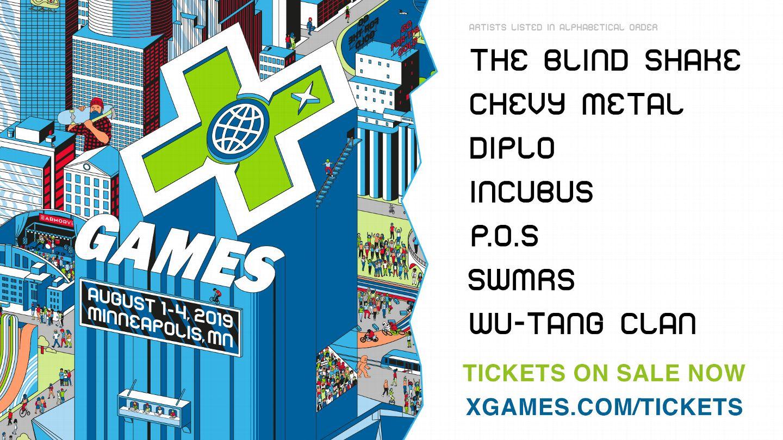 X Games 2020.Music X Games