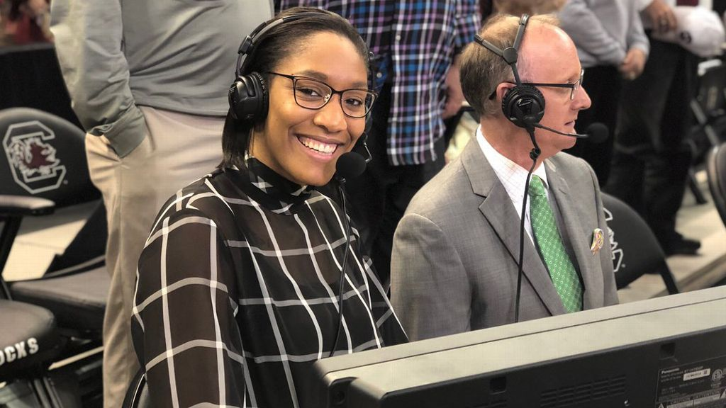 A'ja Wilson joins SEC Network as new lineup tips off