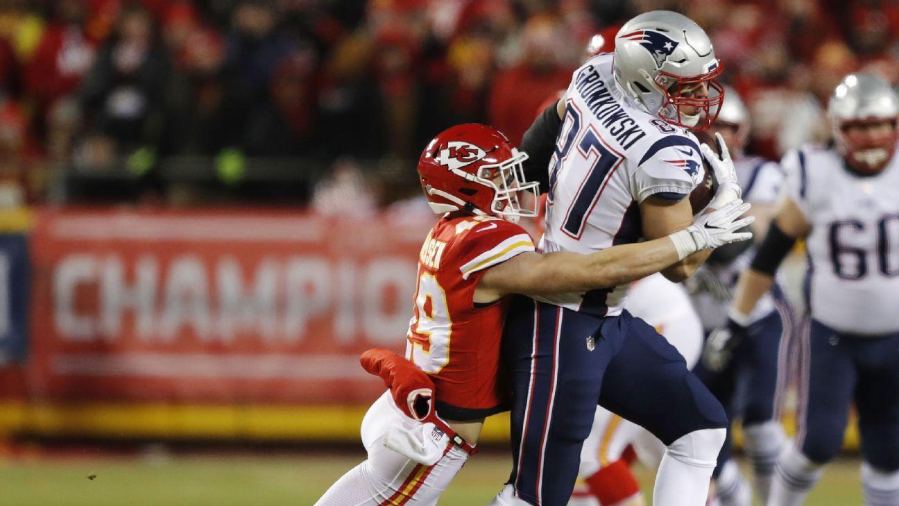 Rob Gronkowski, TE, New England Patriots