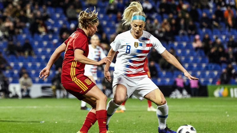 f5a7eaf3415 U.S. women s national team rebounds with 1-0 win over Spain