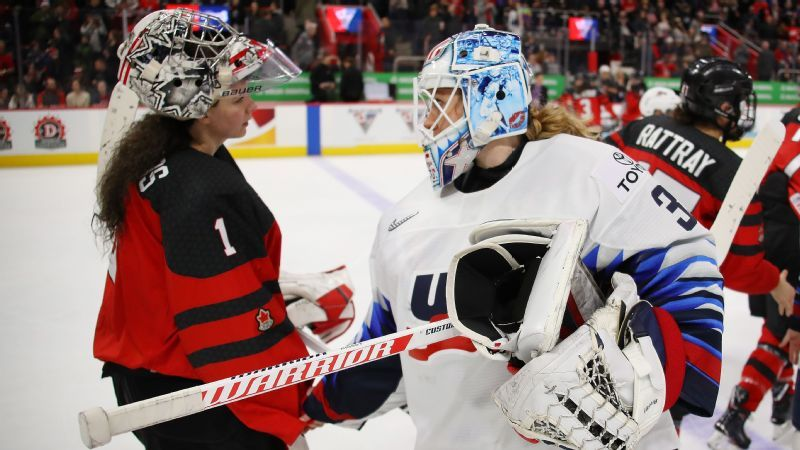 Rivalry Series Between United States And Canada Women S National