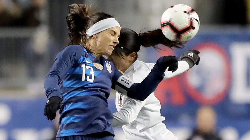 1c7b22af725 U.S. women settle for draw in SheBelieves Cup opener with Japan