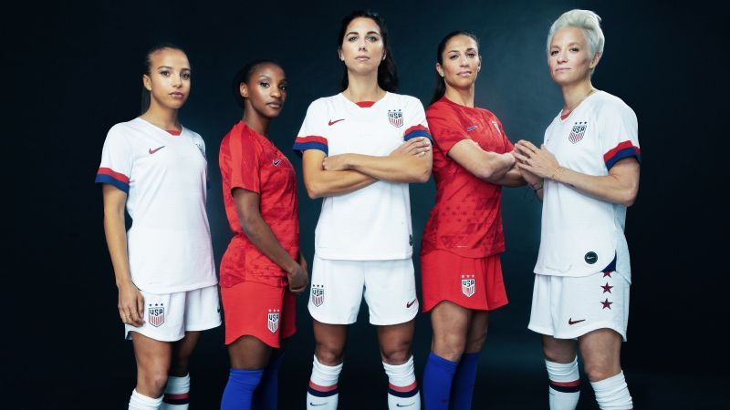 c38f832aeac Women's World Cup 2019 - U.S. women's kit gives nod to legendary ...