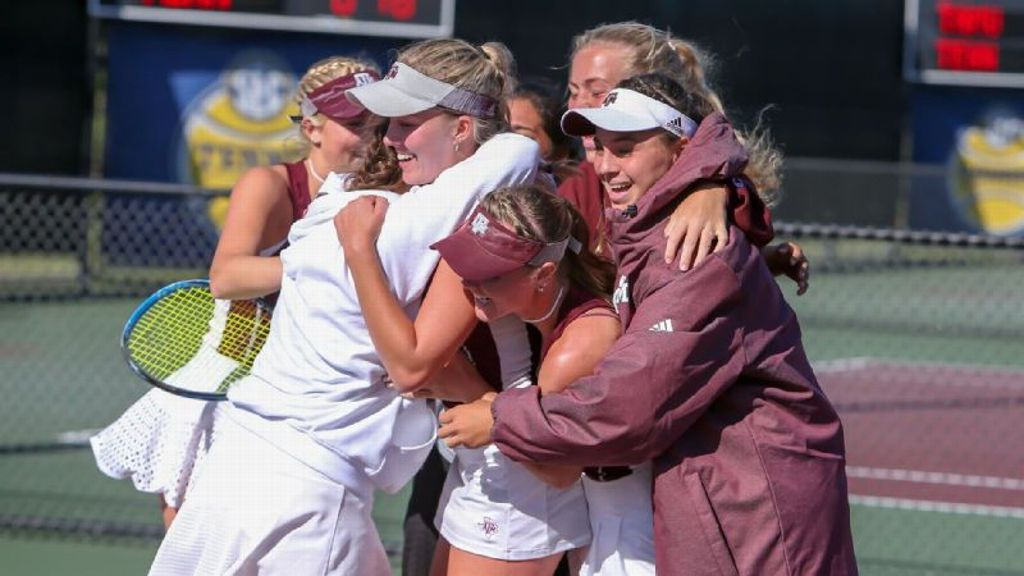 Texas A&M eliminates Tennessee 4-2