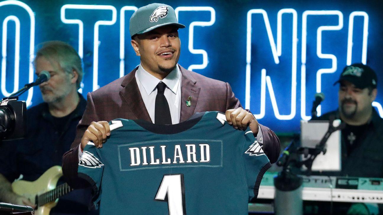 Andre Dillard, OT, Philadelphia Eagles