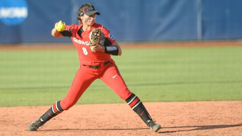 2019 NCAA softball tournament -- How butterflies and TED Talks
