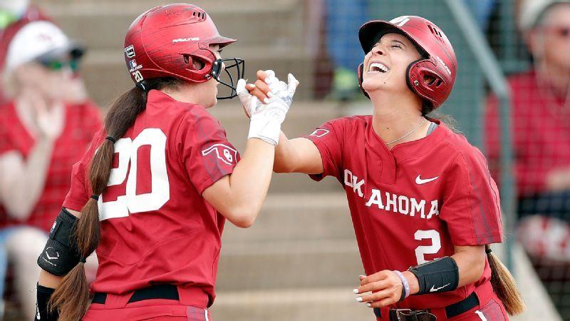 b7074fd65 Women's College World Series 2019 -- Oklahoma seniors digging deep ...