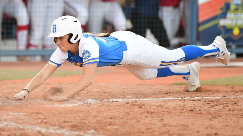 UCLA softball national champion Stevie Wisz undergoes