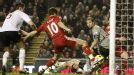 Joe Cole turned the ball home to give Liverpool all three points against Bolton