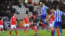 Sheffield Wednesday's Chris O'Grady scores what turned out to be the winning goal