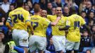 David Murphy of Birmingham City celebrates the opening goal