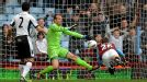 Andreas Weimann turns home a late winner for Aston Villa