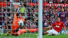 Robin van Persie netted United's second goal