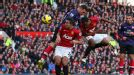 Patrice Evra header against Arsenal