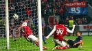 Javier Hernandez scores in injury time to make sure of the points for Man United at Braga