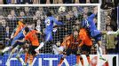 Victor Moses heads home in the 94th minute to make it Chelsea 3-2 Shakhtar