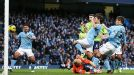 David Silva puts Man City in front against Aston Villa
