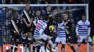 Adel Taarabt scored both QPR's goals as they secured a first Premier League win of the season 