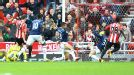 John O'Shea fires home the opening goal for Sunderland