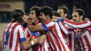 Atletico Madrid group celeb