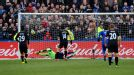 Jordi Gomez puts Wigan ahead at Macclesfield from the penalty spot