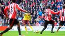 Santi Cazorla fires Arsenal ahead at Sunderland