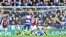Christian Benteke brings Aston Villa level at Reading within moments of falling behind