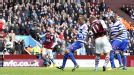 Gabriel Agbonlahor heads Villa level on the stroke of half-time