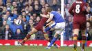 Nikica Jelavic seals victory as he curls home Everton's second in injury time