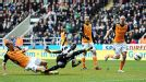 Papiss Cisse fires in Newcastle's dramatic 93rd minute winner against Fulham