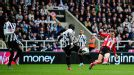 Adam Johnson fires home Sunderland's second goal