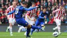 Robin van Persie doubles Manchester United's advantage from the penalty spot