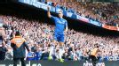 Fernando Torres celebrates after scoring what could prove to be his final goal for Chelsea