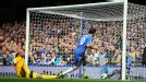 Juan Mata fires Chelsea into the lead against Everton