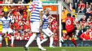 Philippe Coutinho rifles Liverpool in the lead against relegated QPR