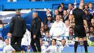 Jose Mourinho is sent to the stands by referee Anthony Taylor.