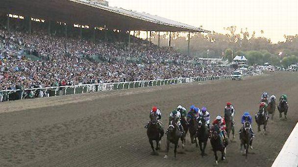 The 2012 Breeders' Cup Classic at Santa Anita Park.