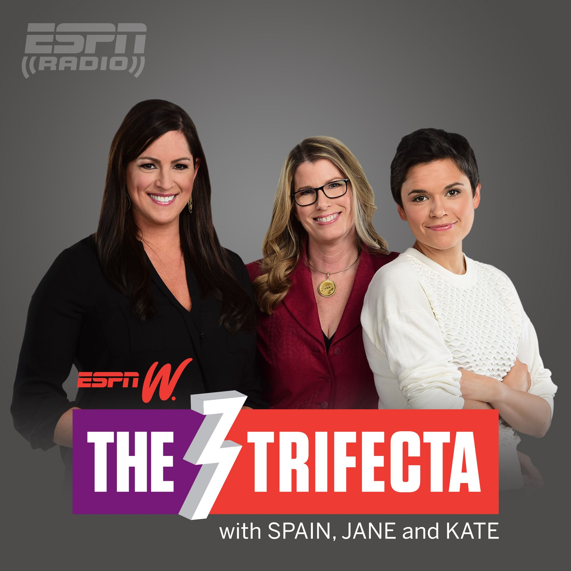 espnW's The Trifecta with Spain, Jane & Kate