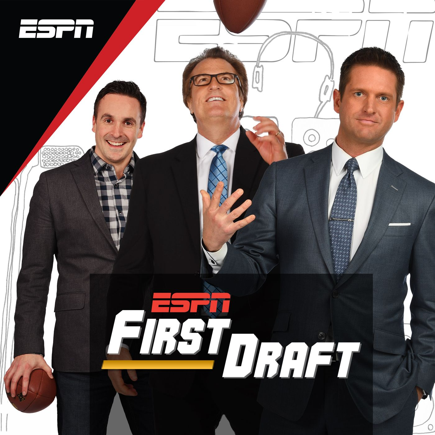 first draft Espn: first draft podcast on demand - espn experts mel kiper jr and todd mcshay keep tabs on the nfl draft throughout the year espn experts mel kiper jr and todd mcshay keep tabs on the nfl draft throughout the year.