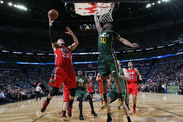 Utah Jazz Vs New Orleans Pelicans Photos December 16