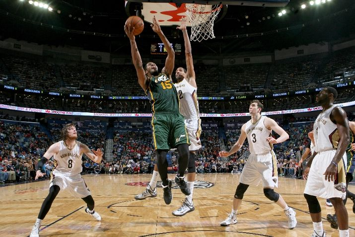 Utah Jazz Vs New Orleans Pelicans Photos February 09