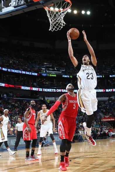 Houston Rockets Vs New Orleans Pelicans Photos March 25