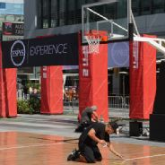 The ESPYs Experience set up before The 2013 ESPYS.