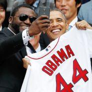 President Obama And David Ortiz