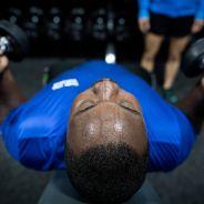 Michael Robinson prepares for World Games