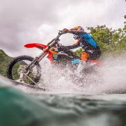 Robbie Maddison and the water bike