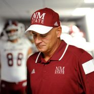 NMSU coach Doug Martin